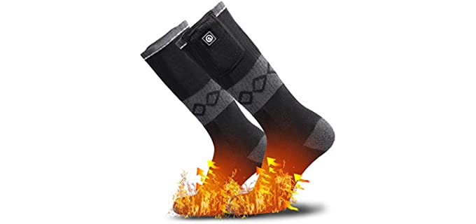 Sun Will Store Unisex Ski Heated Socks - Best Ski Socks