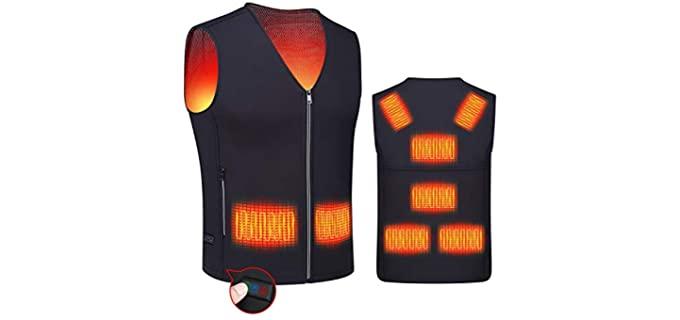 Rynx Unisex Vest - Heated Vest Jacket