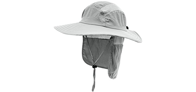 Home Prefer Men's Protection Cap - Hat for Sun Protection