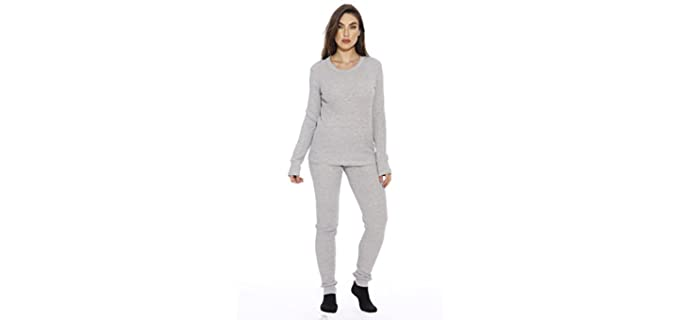 Just Love Women's Thermal - Therma Pyjama Set