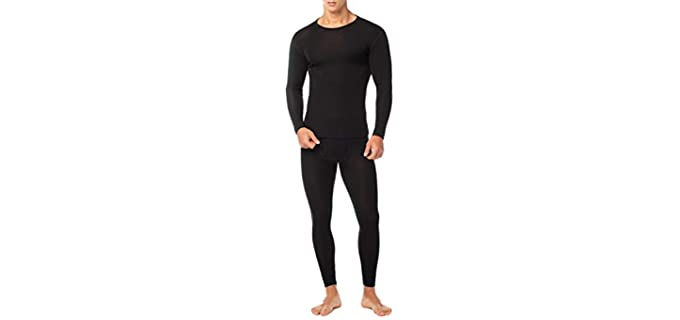 LAPASA Men's Merino Wool Thermal Underwear - Thermal Underwear Set