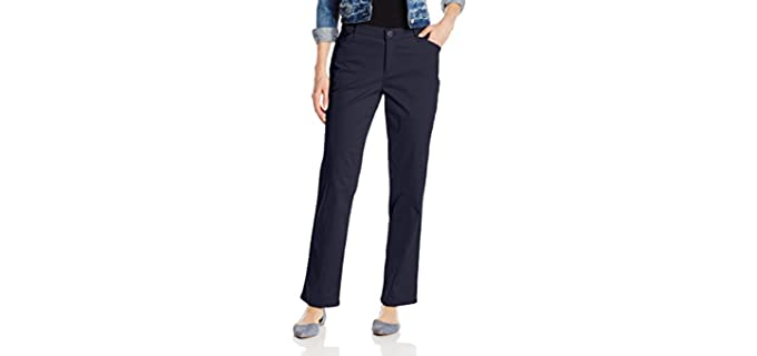 LEE Women's Relaxed - All Day Straight Leg Pant