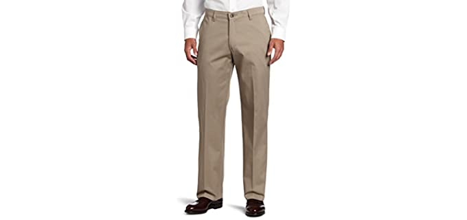 Lee Men's Relaxed Fit - Casual Khaki Pants