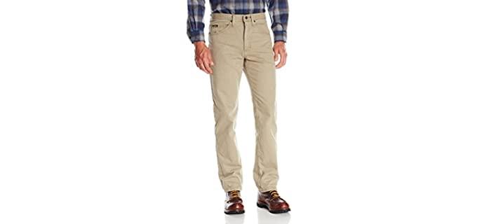 Lee Men's Regular Fit - Khaki Jeans