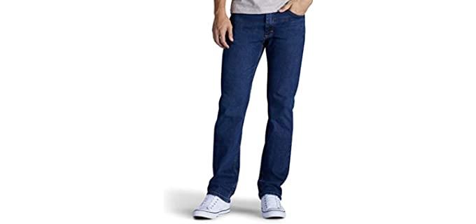 Lee Men's Premium - Classic-Fit Straight-Leg Jeans