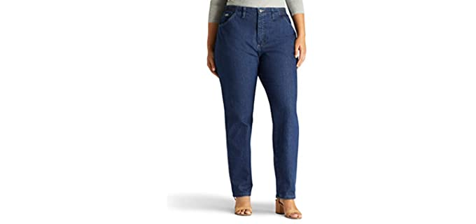 Lee Women's Plus Sized - Jeans for Large Thighs
