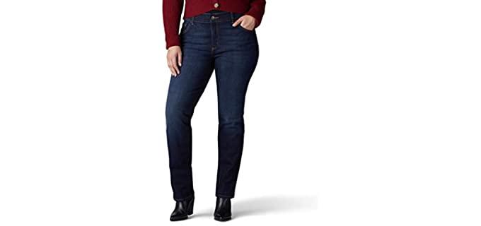 Lee Women's 30890 - Plus Size Flex Motion Jeans