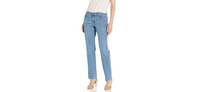 Lee Women's Relaxed - Straight-Leg Jean