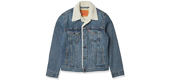 Levi's Men's Trucker - Sherpa Winter Jacket