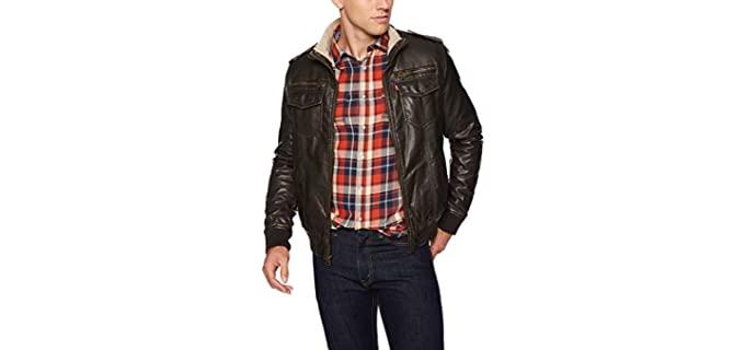Levi's Men's Vintage - Deer faux Leather Jacket