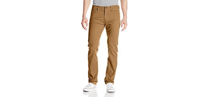 Levi's Men's Straight Jean - Levi Khaki Jeans