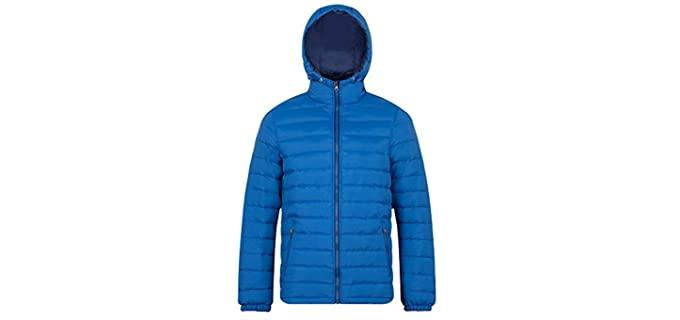 madhero Men's Puffer - Warm Winter Jacket