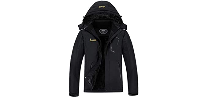 Moerdend Men's Waterproof - Warm Winter Snow Coat Mountain