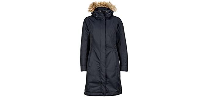 MARMOT Women's Rain Coat - Women's Raincoat with Hood Stylish