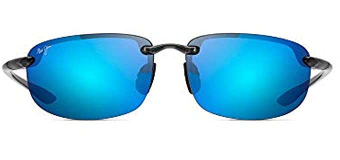 Maui Jim Unisex Ho'okipa - Rectangular Driving Sunglasses