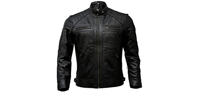 Artistry Men's Biker - Genuine Leather Jacket
