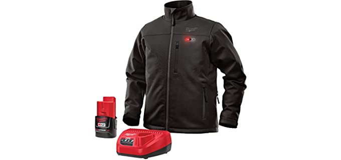 Milwaukee Men's Lithium-Ion Heated - Front and Back Heat Zones Jacket