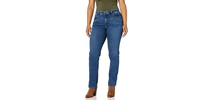 NYDJ Women's WDNMMS2299 - Plus Size Marilyn Straight Leg Jeans