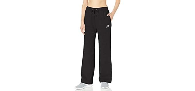 Nike Women's NSW - Open Hem Fleece Pant Varsity