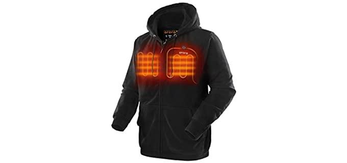 ORORO Unisex Hoodie - Heated Hoodie Jacket