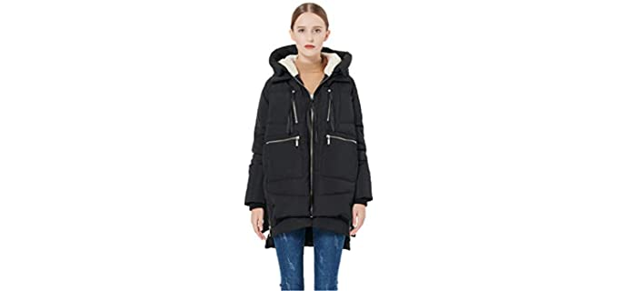 Orolay Women's Thickened Down - Orolay Women's Thickened Down Jacket