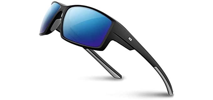 RIVBOS Men's Sport - Driving Sunglasses