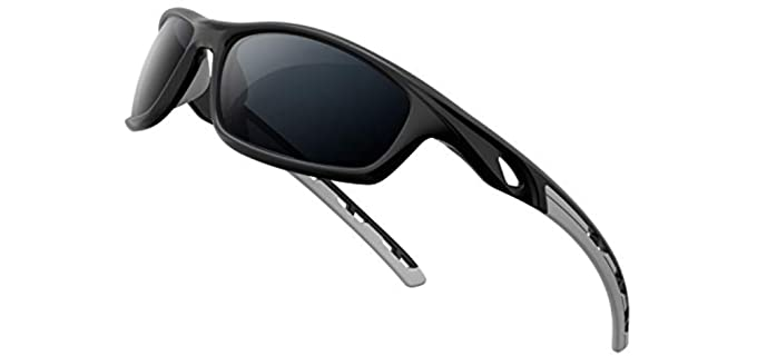 RIVBOS Unisex Sports - Polarized Driving Sunglasses