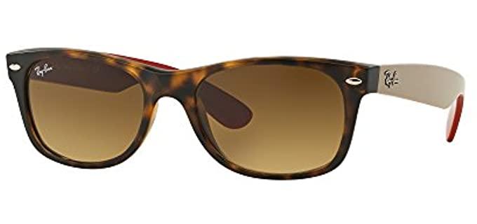 Ray-Ban Unisex RB2132 - New Wayfarer Sunglasses
