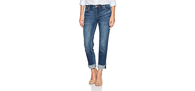 Riders by Lee Indigo Women's Fringe Cuff -  Jeans for Short Legs