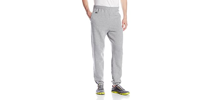 Russel Athletic Men's Dro-Power - Closed Bottom Sweatpants