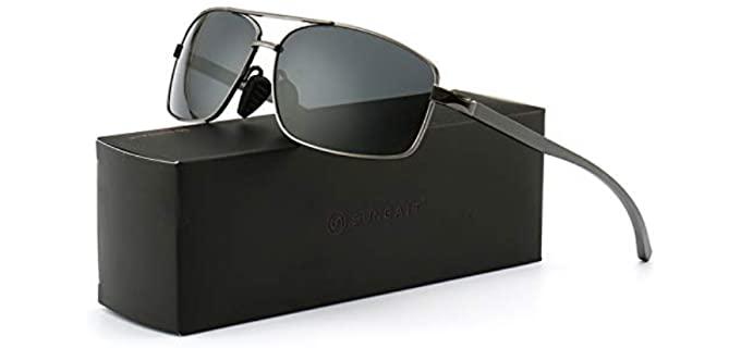 Sungait Men's Classic - Sunglasses for Driving