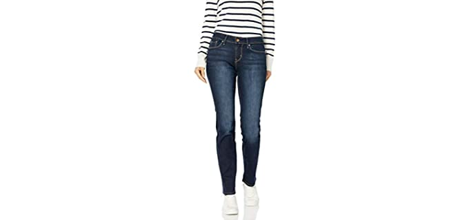 Signature by Levi's Women's Gold Label - Best Petite Jeans