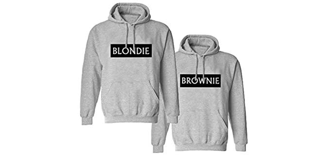Soul Couple Women's BFF - Friends Sweat Shirt