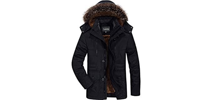 Tanming Men's Winter Warm - Warm Winter Jacket