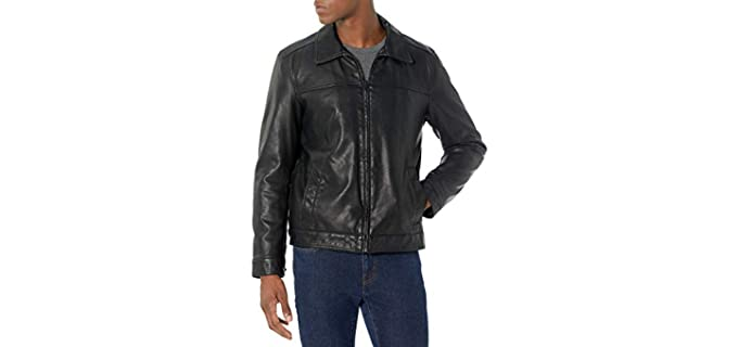 Tommy Hilfiger Men's Classic - Faux Leather Jacket