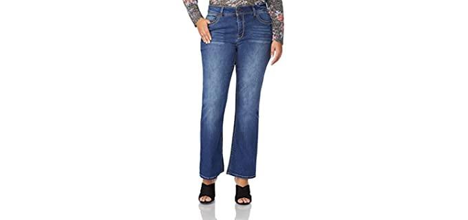 WallFlower Women's Luscious - Plus Size Stretch Jeans