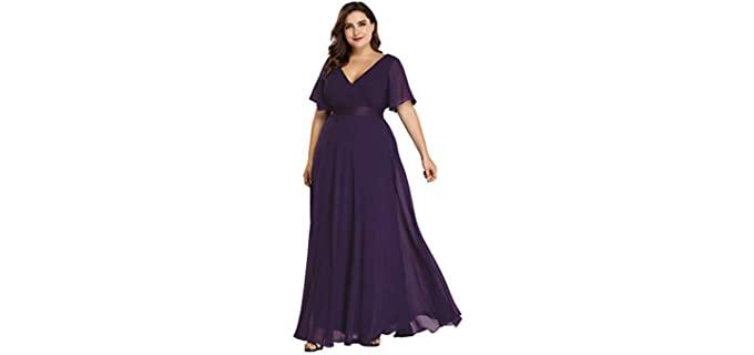 Ever-Pretty Women's Plus Sized - Dress to Wear to a Wedding