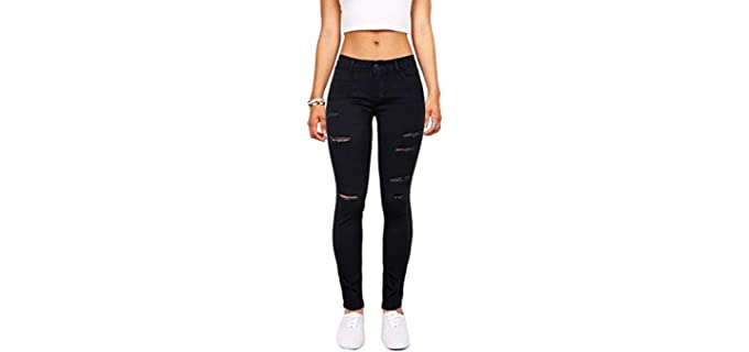 Skirt DL Store Women's Distressed - Skinny Jeans