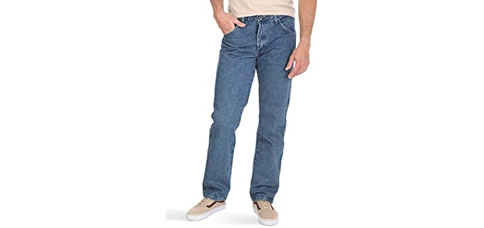 Wrangler Men's Authentic - Jeans for a Beer Belly