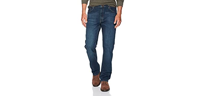 Wrangler Men's Authentics - Big Thigh Fit Jeans