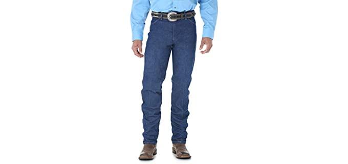 Wrangler Men's 13MWZ - Jeans for Larger Thighs