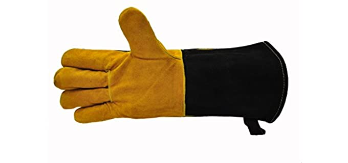 G and F Products Unisex Long - Heat Resistant Work Gloves