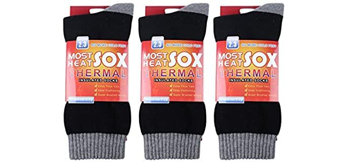 Loritta Store Men's Thermal - Winter Sock