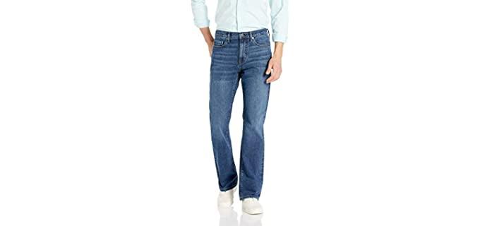 Amazon Essentials Men's Straight Fit - Bootcut Work Jean