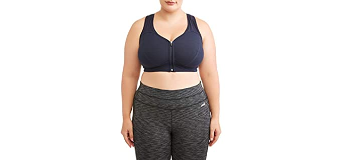 Athletic Women's Sports - Plus Size Sports Bra for Large Breasts
