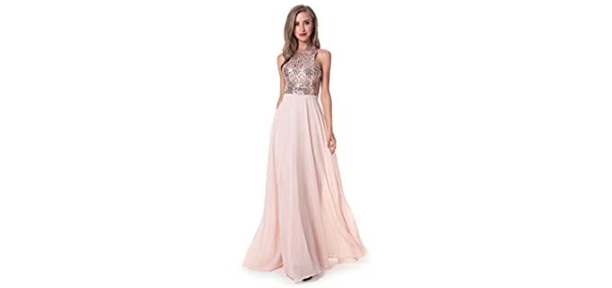 Beauty Kai Women's Formal - Chiffon Prom Dress
