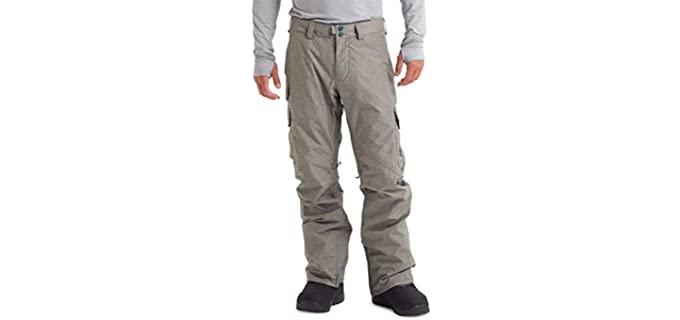 Burton Men's Water Resistant - Regular Fit Cargo Pants