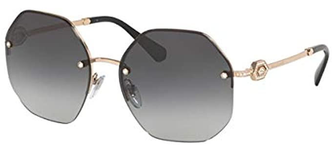 BVLgari Unisex Round - Quality Sunglasses
