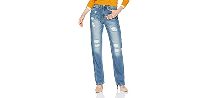 Calvin Klein Women's Straight Fit - Good Fitting Jeans