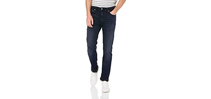 Calvin Klein Men's Blue Skinny Jeans - Best Skinny Jeans for Men